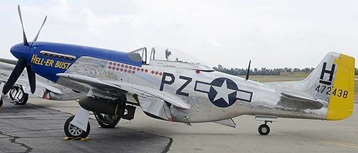 North American P-51D Mustang N7551T Hell-er Bust, May 14, 2011